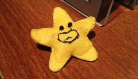 Star Shaped Pin