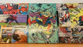 Spiderman Custom Skateboard Deck