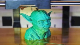 MakerBot Yoda Time Lapse