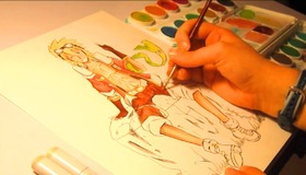 Time Lapse Watercolor