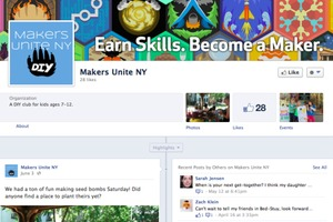 Makers Unite NY Facebook Page