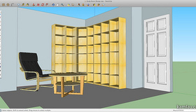 Use Google SketchUp to Design a Room
