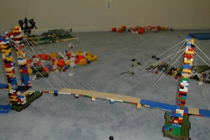 LEGO Suspension Bridge
