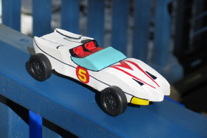 Unbeatable Pinewood Derby Racer