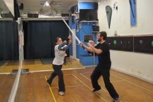 Stage Combat - Sword Fighting