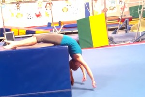 How to get over fear for Back Handspring