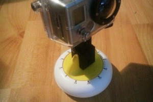 Timelapse Panning Rig from Kitchen Timer