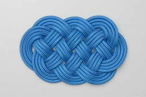 The Ocean Plait Mat