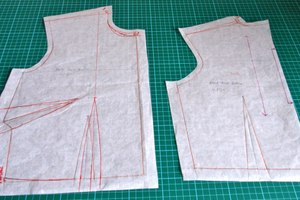 How To Draft a Simple Skirt Pattern