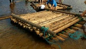 Build A Wooden Raft
