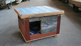 How To Build a Dog House From Reclaimed Wood
