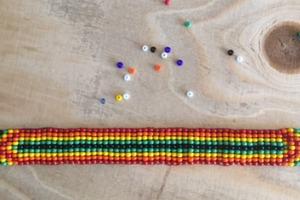 My beaded bracelet