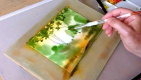 Woodland Watercolor Demo