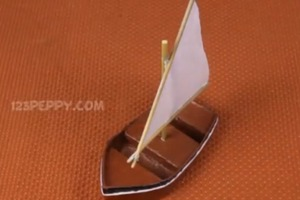 How To Build a Model Sailboat