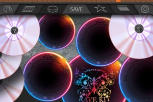 iAmDrums App (iPhone)