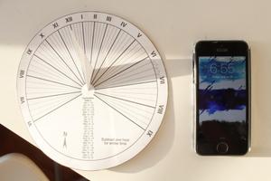 Northern Hemisphere Sundial