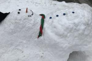 Snowman Fort!