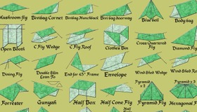 Tarp Shelter Variations