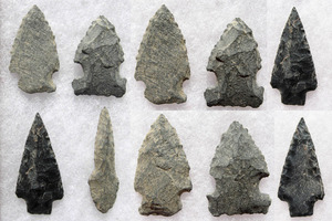 Finding Native American Arrowheads