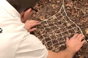 Make a Fishing Net