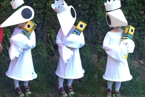 Monument Valley Ida Halloween Costume (2015)