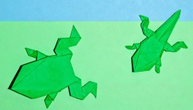 Origami Metamorphosis