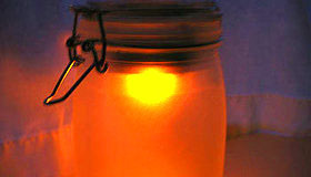 Solar Powered Mason Jar Light