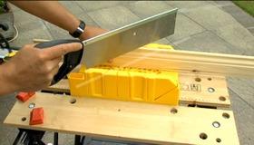 Use a Mitre Box