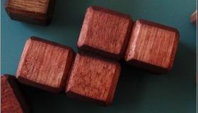 Tetris Wood Blocks
