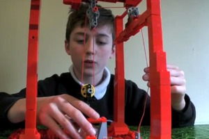LEGO Pulley Invention