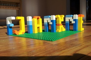 Make Words with LEGO - DIY