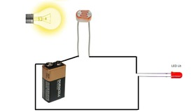 Build a Simple Photoresistor Circuit