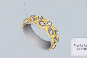 Ring Design in Sketchup