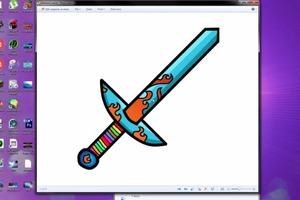 Design Your Own Minecraft Sword!