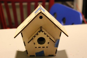 Laser Cut Birdhouse