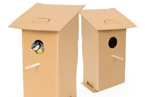How To Build a Cardboard Birdhouse