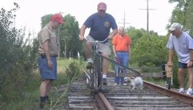 Rail Biking