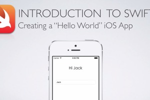 iOS Swift 1: Creating a Hello World App