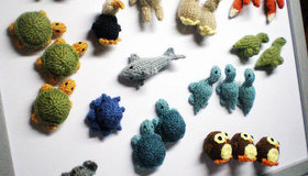 Knitted Magnets