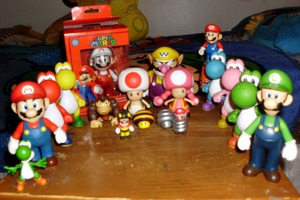 Mario Action Figure Collection