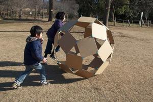 Cardboard Windball