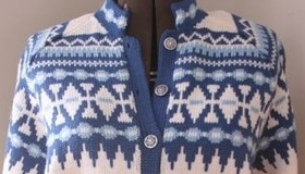 Hand Knit Sweater Gallery
