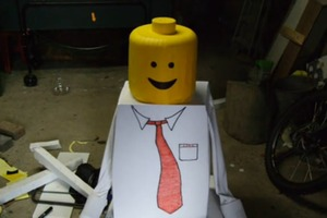 How to Make  Lego Costume