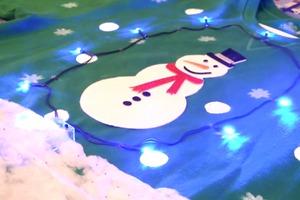 "SnowDIYs: ""Ugly"" Christmas Sweaters w/Lights!"