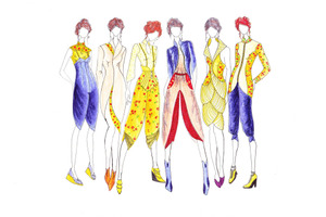 Fashion Illustration Time Lapse