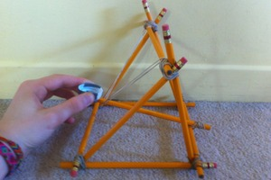 Pencil Catapult