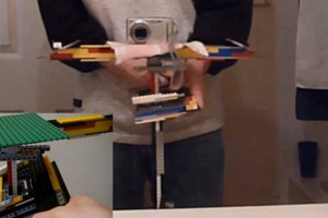 Lego camera stabilizer