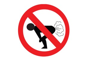 No Farting Zone