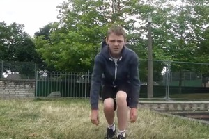 How to parkour roll