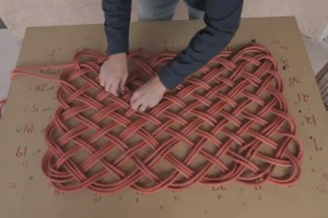 how to make a basketball net out of rope